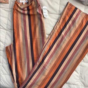 Flared high waisted pants